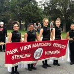 Park View High School Band banner