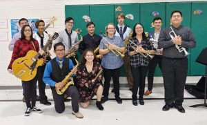Students from Park View High School Band