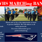 ad for Park View Band marching band
